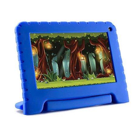Tablet Kidpad Go 7p 16gb Quad 1cam NB302 - Azul - Multilaser