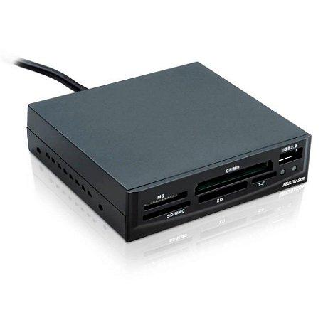 Leitor de Cartão Universal Interno USB 2.0 AC069 - Multilaser