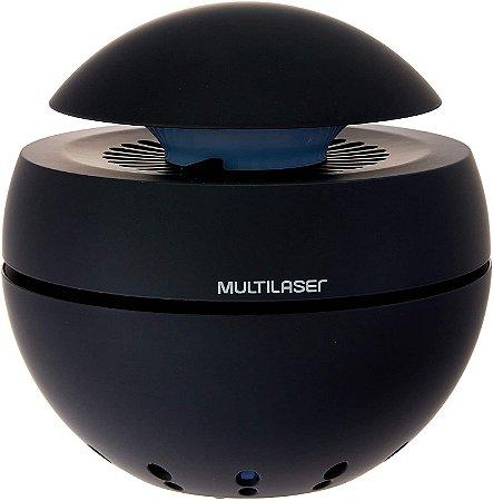 Purificador de Ar Clean Air com 2 Estágios de Filtração Usb HC156 Preto - Multilaser