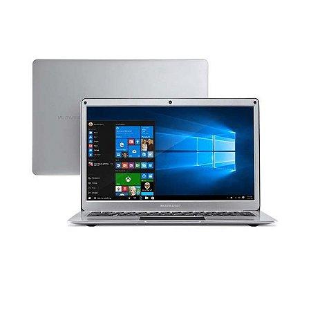 "Notebook Legacy 13.3"" 4gb 64gb Windows 10 Prata - Multilaser"