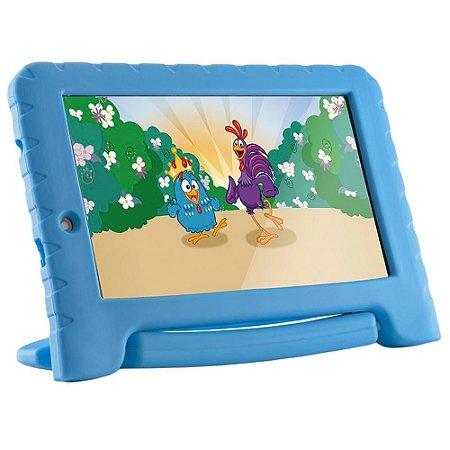 Tablet Multilaser Galinha Pintadinha Plus, Bluetooth, Android 8.1, 16GB, Tela de 7´ - NB311 - Multilaser