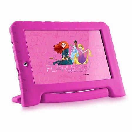 Tablet Multilaser Disney Princesas Plus, Bluetooth, Android 7.0, 8GB, 7´ NB281 - Multilaser