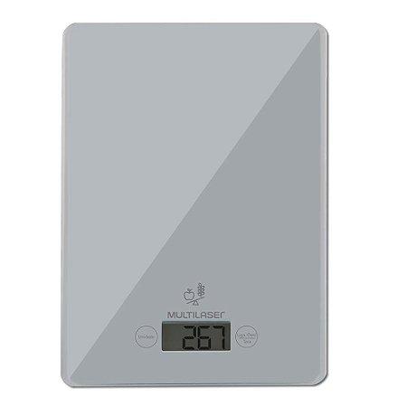 Balança de Cozinha 5KG Cinza  - CE111 - Multilaser
