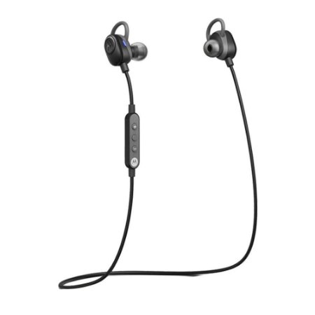 Fone de ouvido Motorola Verve Loop Bluetooth Prova D'agua Preto - Motorola