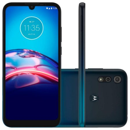 Smartphone Motorola Moto E6S, 32GB, 13MP, Tela 6.1, Azul XT2053 - Motorola