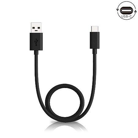 Cabo de Dados e Carga USB C 2mt Preto - Motorola