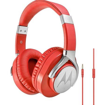 Fone de ouvido Motorola Pulse Max Sh004bk Vermelho - Motorola