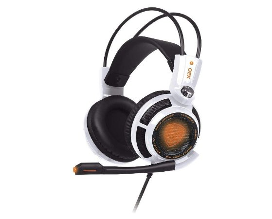 Headset Gamer Extremor Usb Hs400 Branco - Oex