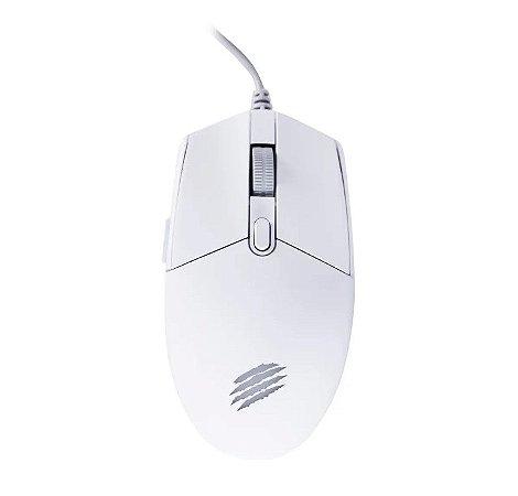 Mouse Gamer Orium Led 6 botões 3200Dpi Branco - Oex