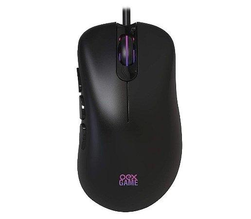 Mouse Gamer Adrik 8 Botões Macro 6400dpi MS321 Preto - Oex