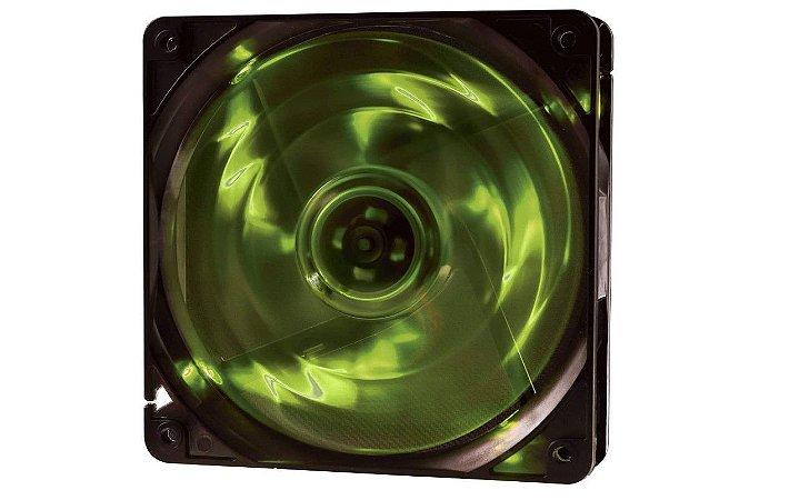 Cooler Fan F10 4 Leds  Verde - Oex