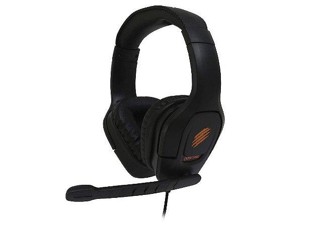 Headset Brutal HS412 Com Led Microfone Omnidirecional Preto - Oex