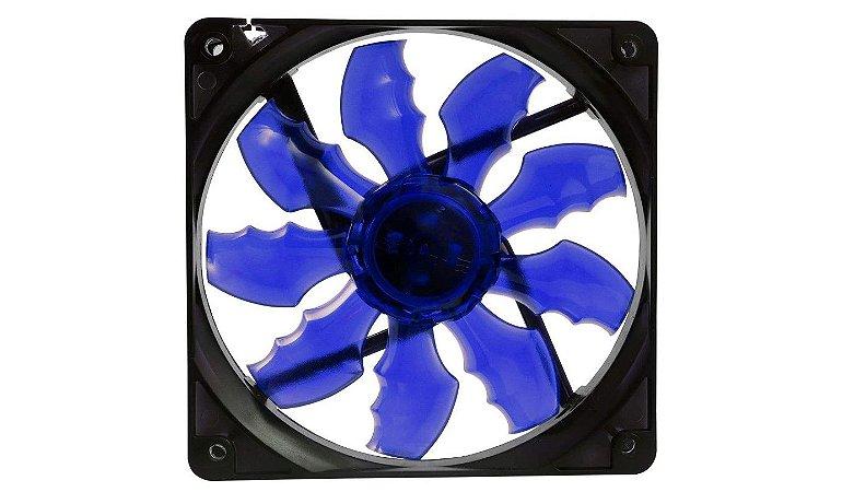 Cooler Fan F10 4 Leds  Azul - Oex
