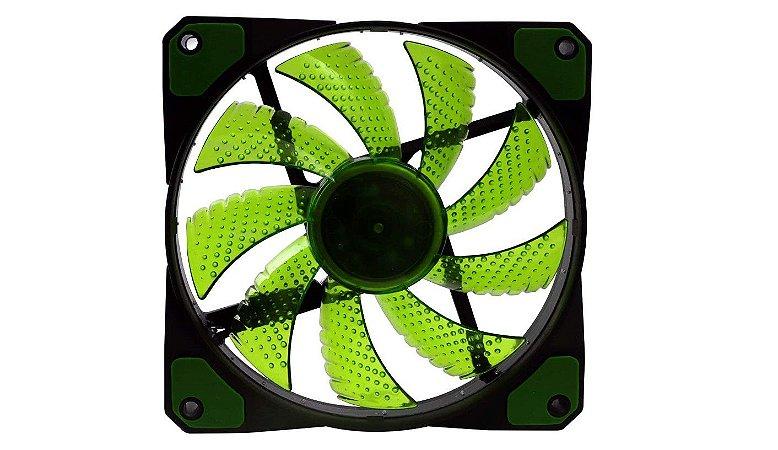 Cooler Fan F20 16 Leds  Verde - Oex