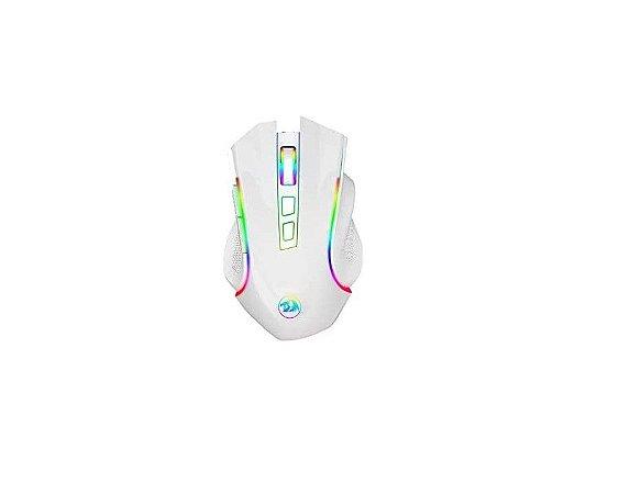 Mouse Gamer para Jogo Redragon Griffin M607W Branco - Redragon