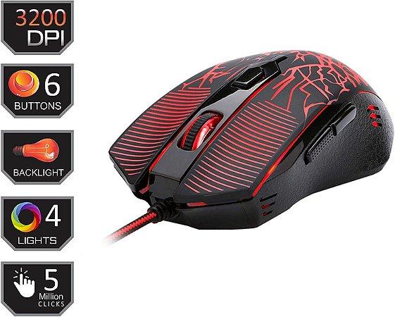 Mouse Gamer Inquisitor Basic Redragon M608 - Redragon