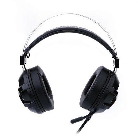Headset Gamer Redragon BIO USB e P2 Com Microfone Preto H801 - Redragon