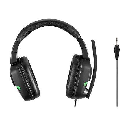 Headset Gamer Warrior Askari PH291 para Xbox One Verde - Warrior