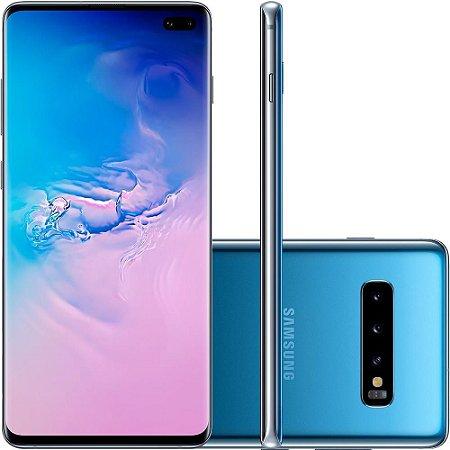 Smartphone Samsung Galaxy S10+, 128GB, 16MP, Tela 6.4´, Azul - SAMSUNG