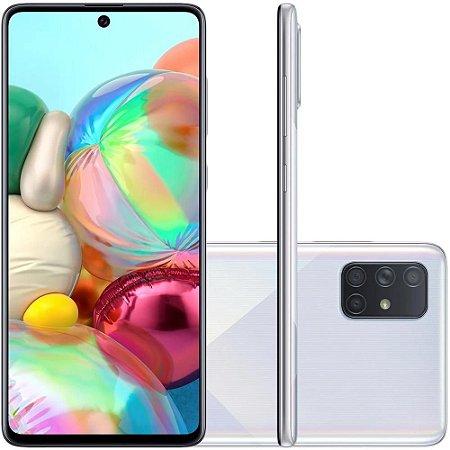 Smartphone Samsung Galaxy A71, 128GB, 64MP, Tela 6.7´, Prata - SAMSUNG