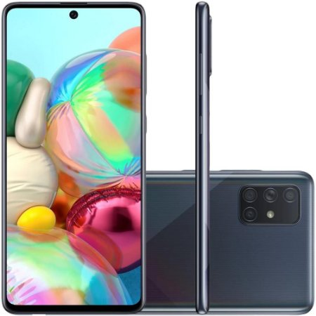 Smartphone Samsung Galaxy A71 128GB 64Mp Preto - Samsung