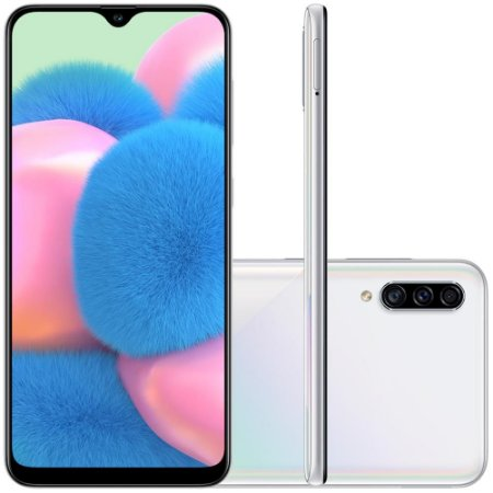 Smartphone Samsung Galaxy A30s, 64GB, 25MP, Tela 6.4´, TV Digital, Branco - SAMSUNG