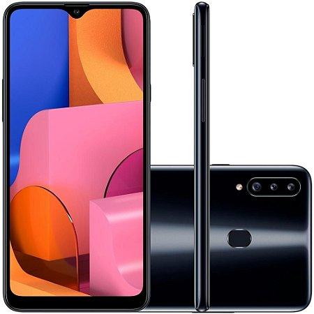 Smartphone Samsung Galaxy A20s, 32GB, 13MP, Tela 6.5´, Preto - SAMSUNG