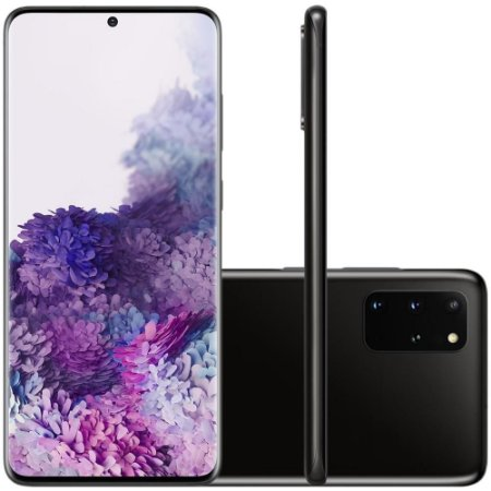 Smartphone Samsung Galaxy S20+, 128GB, 64MP, Tela 6.7´, Cosmic Black - SAMSUNG