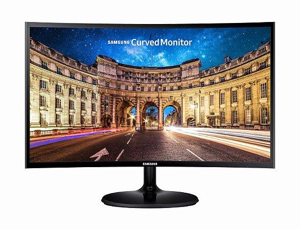 """Monitor Full HD Samsung 24"""" LED Curved 1800r LC24F390F, FreeSync, D-sub, Hdmi - Samsung"""