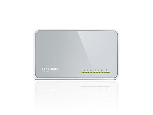 Switch 8 Portas TP-Link TL-SF1008D 10/100Mbps - TP-Link