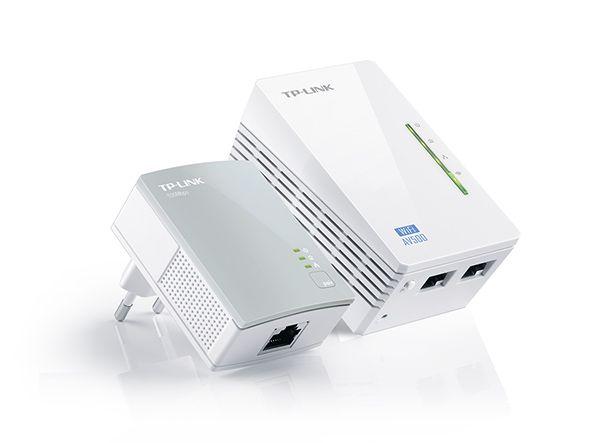 Kit Extensor de Alcance WiFi Powerline, Edição 300Mbps WiFi e AV 500Mbps TL-WPA4220KIT - TP-Link