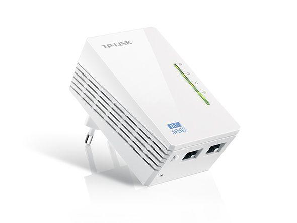 Extensor de Alcance WiFi Powerline, Edição 300Mbps WiFi e AV 500Mbps TL-WPA4220 - TP-Link