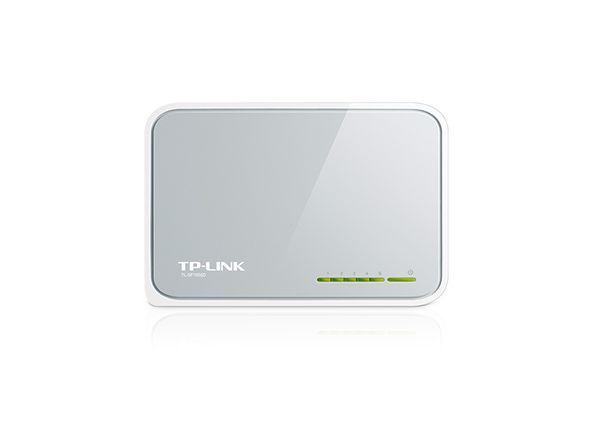 Switch de Mesa 5 Portas TP-Link TL-SF1005D Fast Ethernet 10/100Mbps - TP-Link