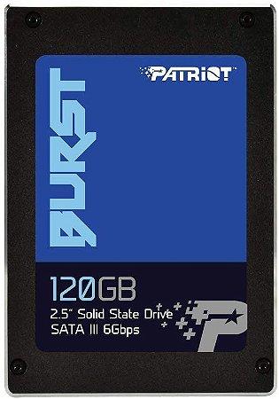 SSD Patriot Burst 120GB 2,5 SATA 3 PBU120GS25SSDR - Patriot