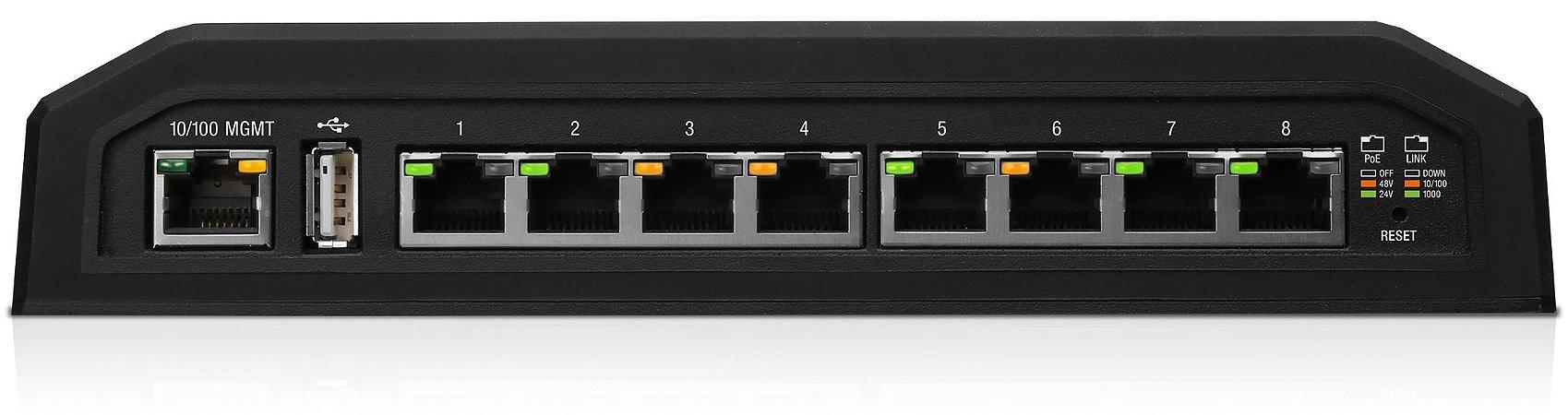 Switch Ubiquiti EdgeSwitch XP 8XP Giga 24V-48V POE ES-8XP - Ubiquiti