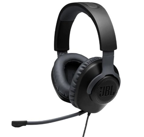 Headset Gamer JBL Quantum 100 Drivers 40mm Preto - JBL