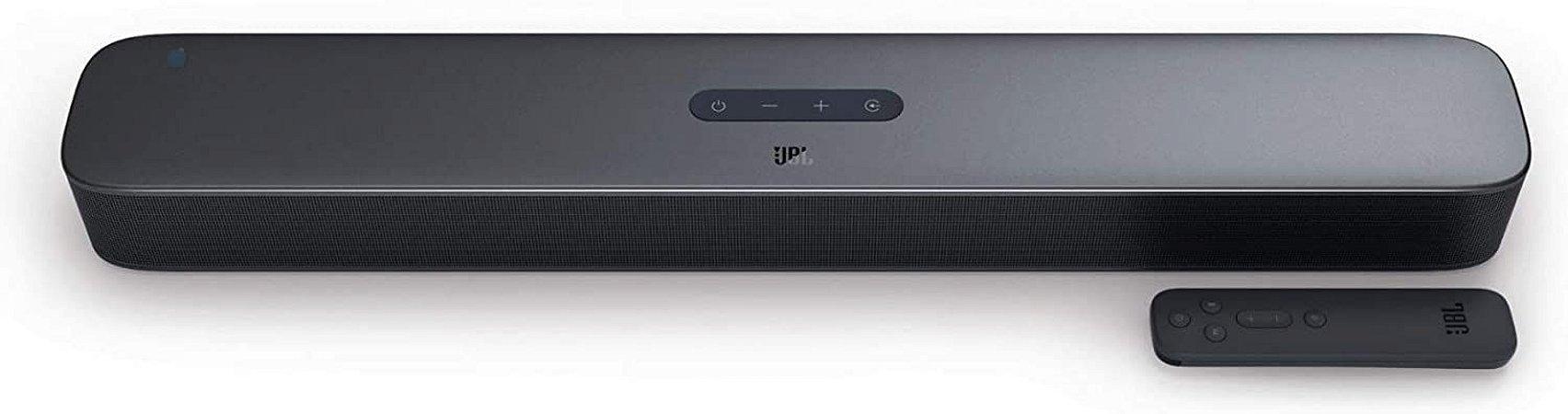 Soundbar Home Cinema JBL Bar 2.0 All In One Bluetooth 40W RMS JBLBAR20AIOBLKBR - JBL