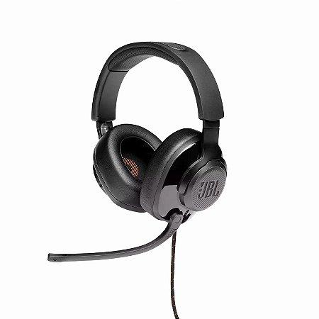 Headset Gamer JBL Quantum 300, Drivers 50mm, Preto - JBL