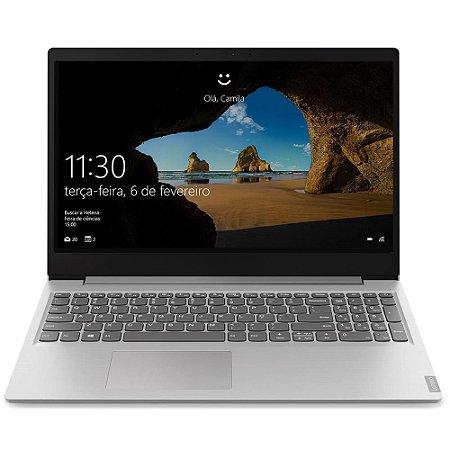 "Notebook Lenovo Ideapad S145, AMD Ryzen 5-3500U, 4GB, HD 1TB, Windows 10, Ultrafino, 15.6"", Prata 81V70001BR - Lenovo"