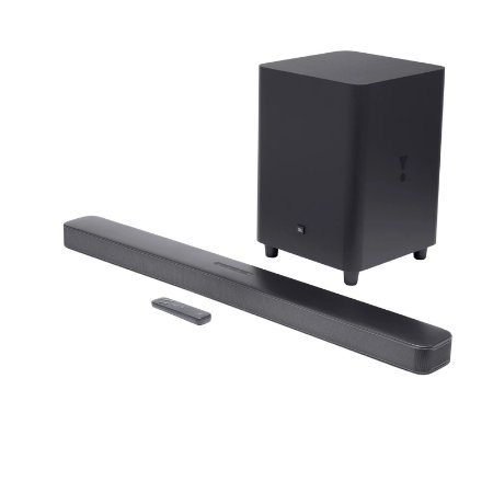 Home Soundbar JBL Bar 5.1 Surround 325W - JBL