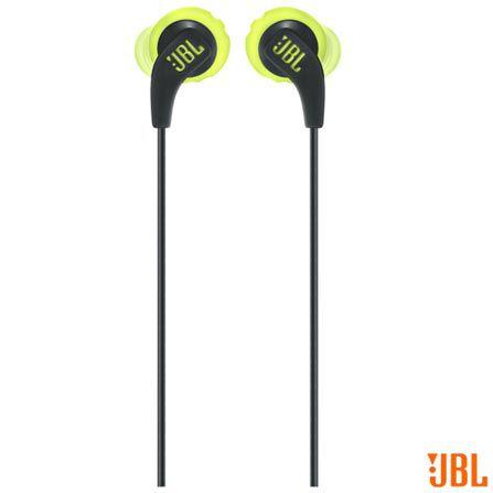Fone de Ouvido JBL Endurance Run preto/amarelo - JBL