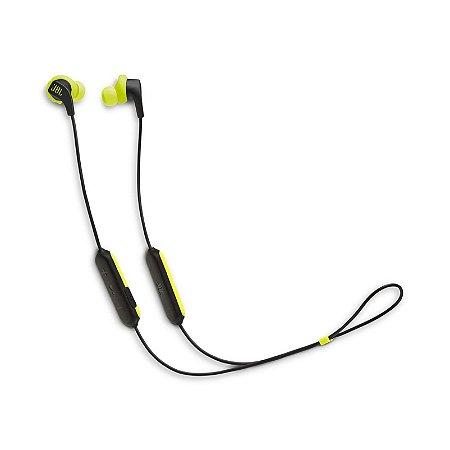 Fone de Ouvido JBL Endurance Run Bluetooth Preto Verde - JBL