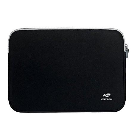 "Capa Sleeve para Notebook 15.6"" SEATTLE SL-15 Preto - C3Tech"