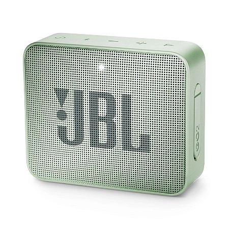Caixa Bluetooth JBL GO2 Mint Prova d'Água - JBL