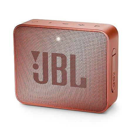 Caixa Bluetooth JBL GO2 Cinnamon Prova d'Água - JBL
