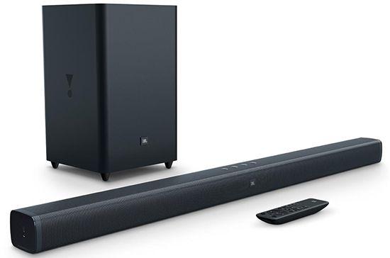 Home Theather Soundbar JBL Bar 100W Usb Bluetooth Som Surround - JBL