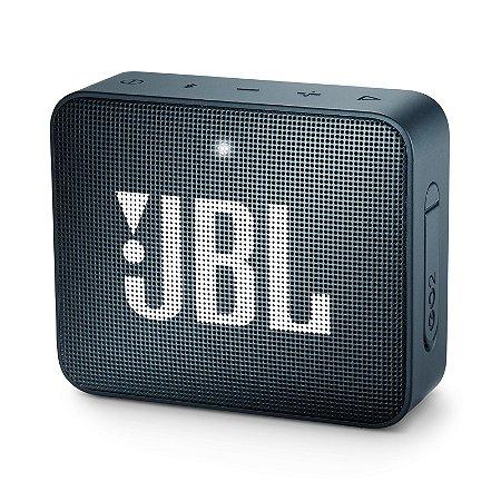 Caixa Bluetooth JBL GO2 Navy Prova d'Água - JBL