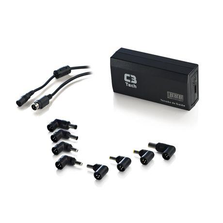 Fonte Universal Para Notebook 120W Com USB+Veicular NB-120 - C3Tech