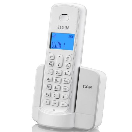 Telefone sem fio TSF8001 branco - ELGIN
