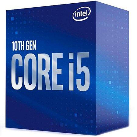 Processador Intel Core I5-10400 Comet Lake 2.90 GHZ (OC 4.30 Ghz) 12mb LGA 1200 Bx8070110400 - Intel